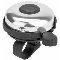 Звонок 41A-06 алюминий/пластик, чёрно-серебристый