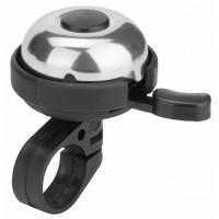 Звонок 31A-06 алюминий/пластик, чёрно-серебристый