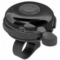 Звонок 41A-05 верх алюминиевый, основа пластик, чёрный