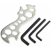 Набор велоинструментов (3 шестигранника+ключ комбинир.)