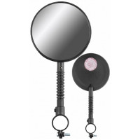 Зеркала заднего вида FCR-S99-4, со световозвращателями, пластиковые, чёрные, правое и левое