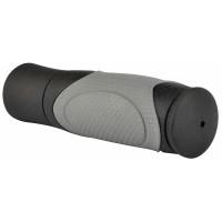 Грипсы VLG-428D2 Velo 125 мм чёрно-серые
