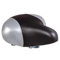 Седло HBAZ-0801A Novatrack комфортное, черно-серое