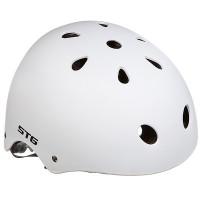 Шлем STG , модель MTV12, размер S(53-55)cm белый, с фикс застежкой.