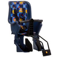 Кресло детское заднее GH-029LG синее с разноцветным текстилем